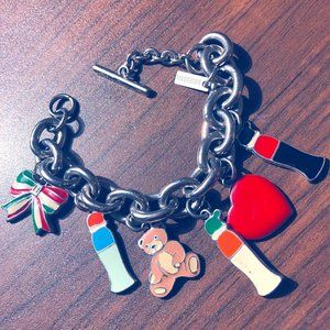 Vintage Limited Edition Moschino Charm Bracelet